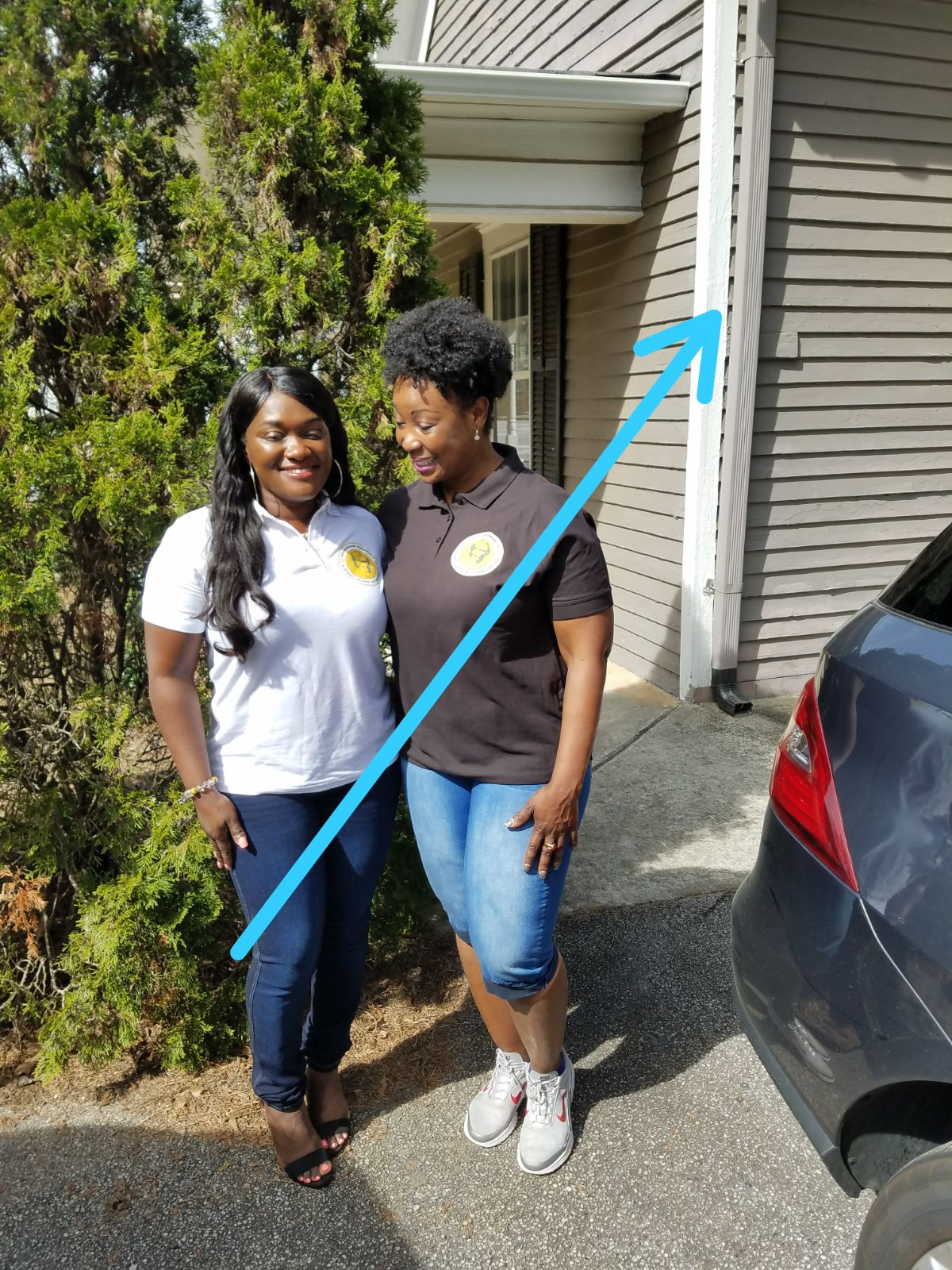 Ghanaian Women's Association of Georgia Donates Household Supplies to Family Promise of Gwinnett County